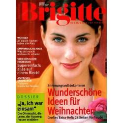 Brigitte Heft 24 / 14 November 2001 - Ideen für Weihnachten