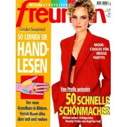 freundin Heft 16 / 19 Juli 1995 - Cooles für heisse Partys