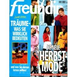 freundin Heft 17 / 2 August 1995 - Die neue Herbst Mode