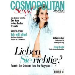 Cosmopolitan 4/April 1996 - Christy  Turlington