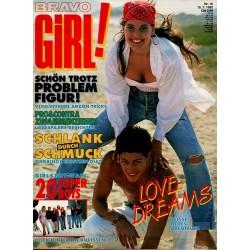 Bravo Girl Nr.16 / 15 Juli 1992 - Love Dreams