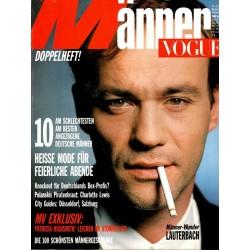 Männer Vogue 11-12/Nov. Dez. 1986 - Lauterbach