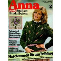 Anna burda Spaß an Handarbeiten 2/Februar 1982 - Maschenmode