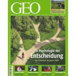 Geo Nr. 8 / August 2008 - Die Psychologie der Entscheidung