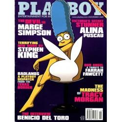 Playboy USA Nr.11 - November 2009 - Marge Simpson