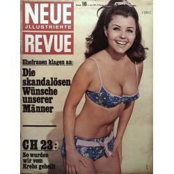 Neue Revue Nr.16 / 16 April 1967 - Uschi Mood