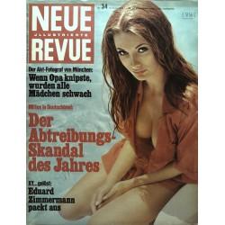 Neue Revue Nr.34 / 24 August 1969 - Akt Fotograf