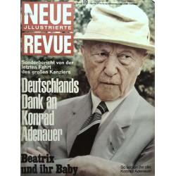 Neue Revue Nr.19 / 7 Mai 1967 - Konrad Adenauer