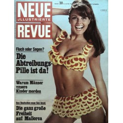 Neue Revue Nr.30 / 23 Juli 1967 - Sex Insel