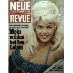 Neue Revue Nr.29 / 16 Juli 1967 - Jayne Mansfield