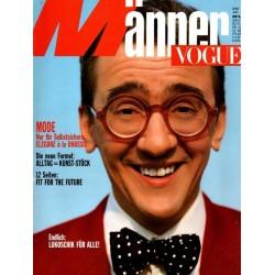 Männer Vogue 6/Juni 1989 - Andreas Lukoschik