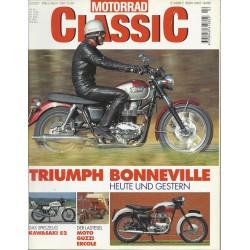 Motorrad Classic 2/01 - März/April 2001 - Triumph Bonneville