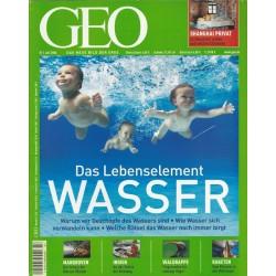 Geo Nr. 7 / Juli 2006 - Das Lebenselement Wasser