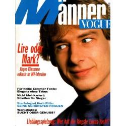 Männer Vogue 5/Mai 1989 - Jürgen Klinsmann
