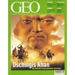 Geo Nr. 2 / Februar 2002 - Dschingis Khan