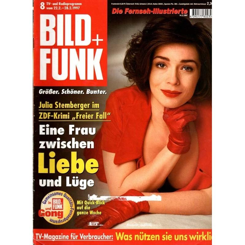 Bild und Funk Nr. 8 / 22 bis 28 Febr. 1997 - Julia Stemberger