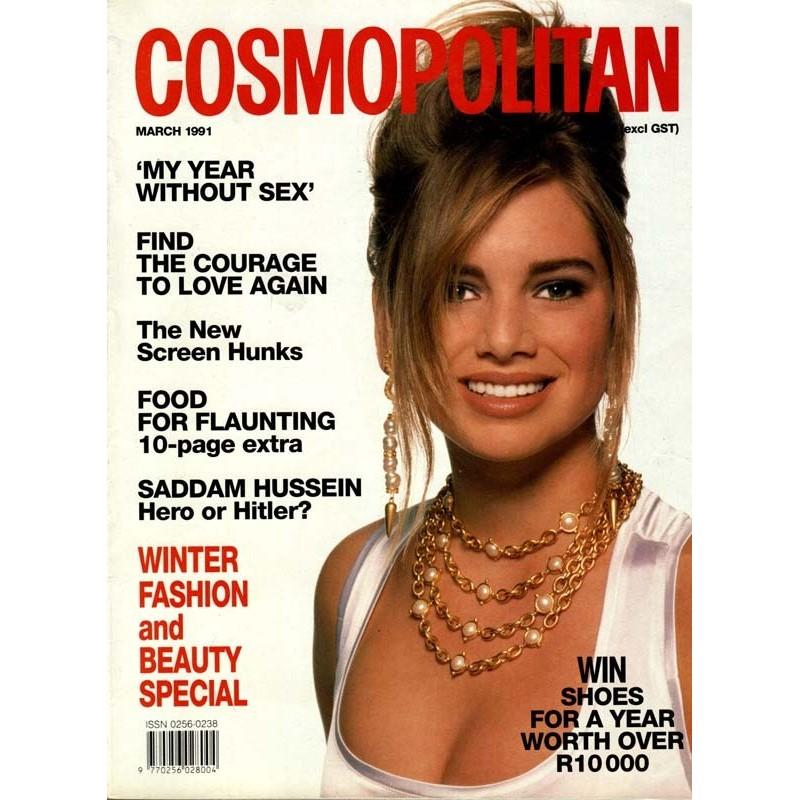 Cosmopolitan SA 3/March 1991 - Heidi Schanz