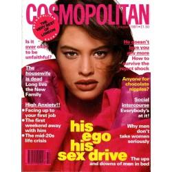 Cosmopolitan UK 10/October 1991 - Godet