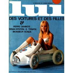 LUI France Nr.10 / Octobre 1967 - Des Voitures et...