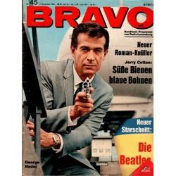 BRAVO Nr.45 / 2 November 1965 - George Nader