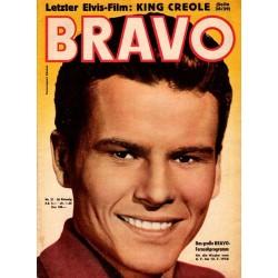 BRAVO Nr.27 / 1 Juli 1958 - Horst Buchholz