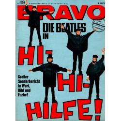 BRAVO Nr.49 / 29 November 1965 - Die Beatles