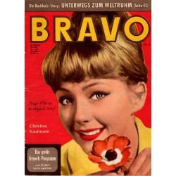 BRAVO Nr.17 / 18 April 1961 - Christine Kaufmann