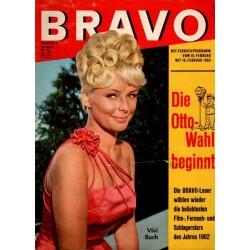 BRAVO Nr.6 / 5 Februar 1963 - Vivi Bach