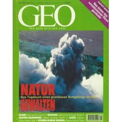 Geo Nr. 3 / März 1997 - Natur Gewalten