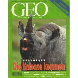 Geo Nr. 11 / November 1995 - Die Kolosse kommen