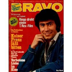 BRAVO Nr.21 / 17 Mai 1972 - Roy Black