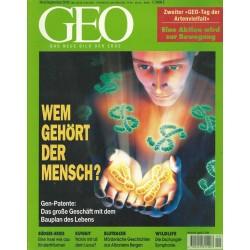 Geo Nr. 9 / September 2000 - Wem gehört der Mensch?