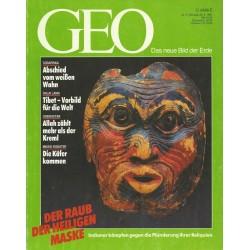 Geo Nr. 5 / Mai 1991 - Der Raub der heiligen Maske