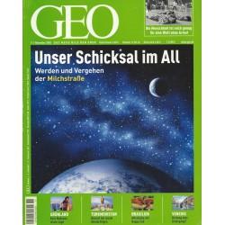 Geo Nr. 11 / November 2005 - Unser Schicksal im All