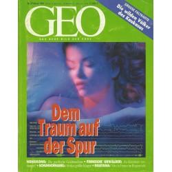 Geo Nr. 2 / Februar 1994 - Dem Traum auf der Spur