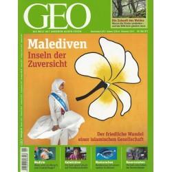 Geo Nr. 5 / Mai 2011 - Maledivien, Inseln der Zuversicht