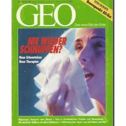 Geo Nr. 2 / Februar 1993 - Nie wieder Schnupfen?