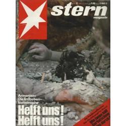 stern Heft Nr.51 / 15 Dezember 1988 - Helft uns! Helft uns!