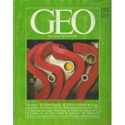 Geo Nr. 5 / Mai 1985 - Im Irrgarten der Wissenschaft