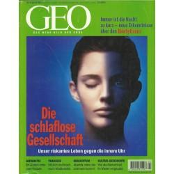 Geo Nr. 4 / April 1999 - Die schlaflose Gesellschaft