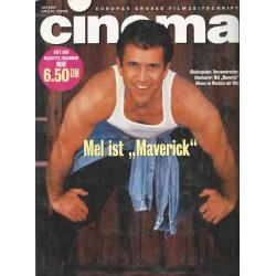 CINEMA 6/94 Juli 1994 - Mel ist Maverick