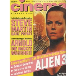 CINEMA 9/92 September 1992 - Alien 3