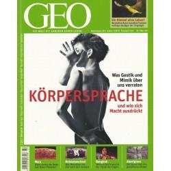 Geo Nr. 3 / März 2011 - Körpersprache