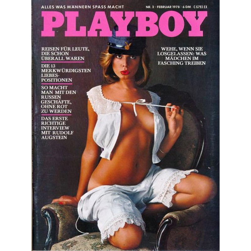 Playboy Nr.2 / Februar 1978 - Lisa Sohm
