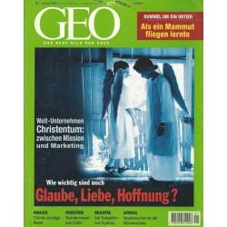 Geo Nr. 1 / Januar 2000 - Glaube, Liebe, Hoffnung?
