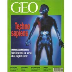 Geo Nr. 6 / Juni 2000 - Techno sapiens