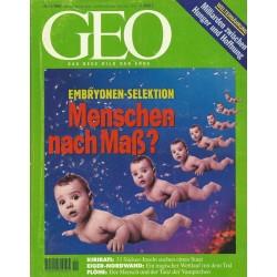 Geo Nr. 11 / November 1996 - Menschen nach Maß?