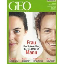 Geo Nr. 7 / Juli 2012 - Frau, Mann der Unterschied