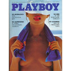 Playboy Nr.10 / Oktober 1978 - Brigitte Raddatz
