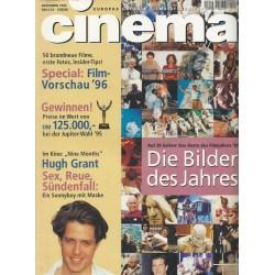 CINEMA 12/95 Dezember 1995 - Die Bilder des Jahres